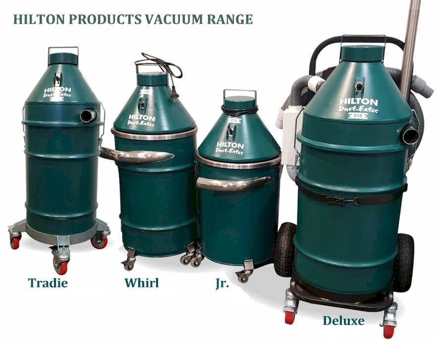Hilton Dust Eater Range - Hilton Vacuums by Hilton Products